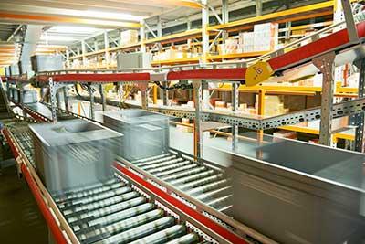 Secteur d'activité de la distribution omni-canal, du e-commerce